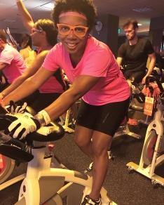 CGM on the Bike